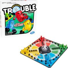 Hasbro Gaming Trouble Board Game in Board Games. Fun Activities For Kids, Games For Kids, Family Activities, Sorry Board Game, Bored Games, Paper Games, Gaming, Fun Board Games, Kids Party Supplies
