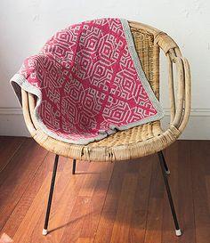 Baby blanket Cervelli knitting pattern PDF by wipinsanity on Etsy