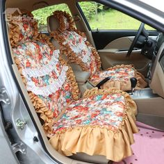 car seat covers very simple to make from a towel and a cheap vinyl table cloth crafts. Black Bedroom Furniture Sets. Home Design Ideas