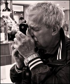 My friend SERGE, with his LEICA and his ROLEX... -Lies of the day by SUDOR.deviantart.com on @deviantART