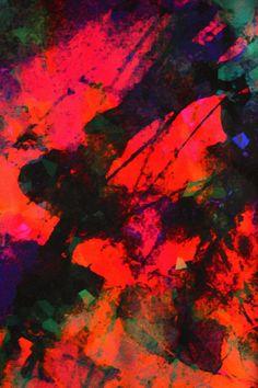 Firework Silk Scarf - Amy Sia