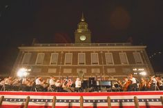 Philly POPS! On Independence Mall. One of Philadelphia's most popular July 4th traditions