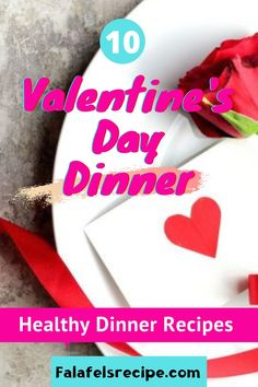 Valentine's Day, or the weekend before it, many couples celebrate their love by cooking up recipes for a Valentine's Day dinner. #Valentinesdaydinner #valentinesday #healthydinnerrecipes Best Healthy Dinner Recipes, Vegetarian Recipes Dinner, Healthy Snacks, Falafel Recipe, Valentines Day Dinner, Family Meals, Easy Meals, Cooking Recipes, Couples