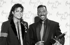 Michael Jackson & Eddie Murphy