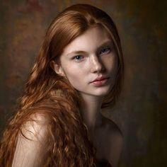 Ph: @katyadiordieva Вот такие атмосферные фото у нас получились))) Всем хорошего дня #model #portret #gracemodels #redhead #milky