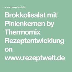 Brokkolisalat mit Pinienkernen by Thermomix Rezeptentwicklung on www.rezeptwelt.de
