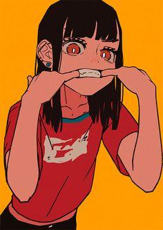 Inicio / Twitter Art Poses, Drawing Poses, Drawing Ideas, Manga Drawing, Drawing Tips, Teeth Drawing, Drawing Art, Manga Art, Cute Art Styles