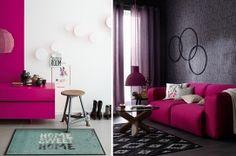 Trendi pink lakberendezési kiegészítők Blog, Pink, Blogging, Pink Hair, Roses