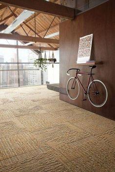 Bicycle as wall art.