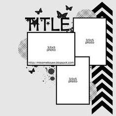 Tesas Scrap och Annat: Favorite layout and a Valentines CAS card