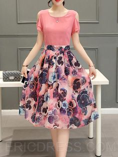 Ericdress is a reliable site offering online cheap dresses for women such as long dresses. Hope you will enjoy the latest dresses like white dresses for women & vintage dresses. Stylish Dresses For Girls, White Dresses For Women, Simple Dresses, Short Dresses, Casual Dress Outfits, Summer Dress Outfits, Cheap Dresses Online, One Piece Dress, Classy Dress