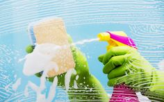 Is cleaning taking you all day? Learn the 4 cleaning tricks professional cleaners use to make cleaning fast and easy. You'll be done cleaning in no time! Professional Cleaning Services, Professional Cleaners, Window Cleaning Tips, Cleaning Hacks, Office Cleaning, Cleaning Companies, Kitchen Cleaning, Blocked Sink, Home Safety Tips