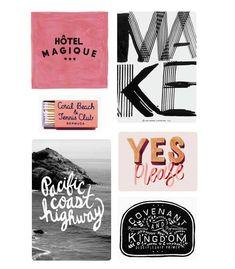 Fave Pinterest Board | Typography + Handlettering | Poppytalk