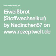 Eiweißbrot (Stoffwechselkur) by Nadinchen87 on www.rezeptwelt.de