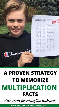 The Fastest And Easiest Way to Teach Struggling Students To Memorize Multiplication Facts - Teaching with a Twist Math Workbook, Constantino, Homeschool Math, Homeschooling, Math Help, Third Grade Math, Math Notebooks, Math Facts, Math For Kids