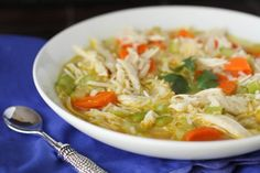 Homemade Chicken, Ranch and Rice Soup - Picky Palate