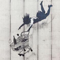 File:Shop Until You Drop by Banksy.JPG