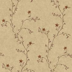 Country Book Laundry Border Wallpaper CB5511BD in Beige, Green, and Burgundy