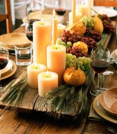 Fall / Thanksgiving Tablescape