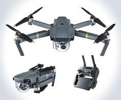 DJI Mavic Pro Foldable Drone | DudeIWantThat.com