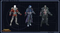 """Star Wars Knights of the Old Republic - """"Sith Warrior concept and scale"""""""