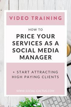 Learn how to attract and sign high paying social media management clients who value your services. Bust through your money mindset blocks to make more money as a social media manager (and work less! Social Media Management Tools, Social Media Tips, Social Media Packages, Business Tips, Online Business, Etsy Business, Social Media Marketing Business, Thing 1, A Team