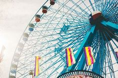 Your place to buy and sell all things handmade Carnival Photography, Texas Photography, Girl Art Picture, Art Pictures, Art Girl, Ferris Wheel, Whimsical, Kids Room, Wanderlust