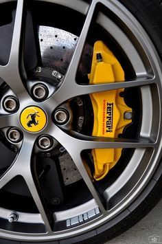 Rims on Pinterest | Wheels, Red Accents and Ferrari