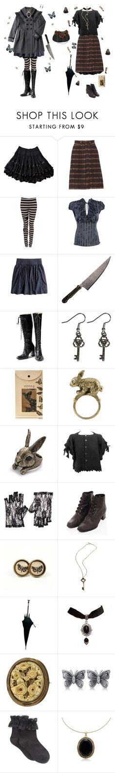 """""""Alice Liddell"""" by ms-izanator ❤ liked on Polyvore featuring Étoile Isabel Marant, Ann-Sofie Back, Debenhams, J.Crew, ZOHARA, Sakdidet Road, Mary Frances Accessories, ASOS, INDIE HAIR and Allurez"""