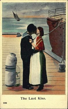 Adventures of the Blackgang Brandy Love, Joining The Navy, Last Kiss, Seafarer, North Sea, Some Image, Tall Ships, Ship Art, Woman Painting