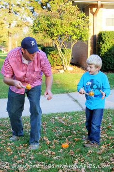 5 Family Halloween Games - Fireflies and Mud Pies