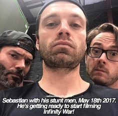 """bucky-is-my-precious: """" readytocomply: """" kittyseb: """"😱😱😱😱😱😱😱 """" """" While this is exciting, could it just be stunt training? Sebastian Stan, Captain America And Bucky, Winter Soldier Bucky, Bucky Barnes, Marvel Movies, Marvel Cinematic Universe, Marvel Avengers, Celebrity Crush, Actors"""