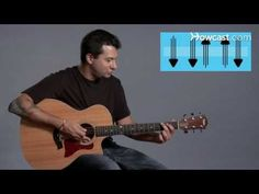 ▶ How to Play Strum Pattern #1 | Guitar Lessons - YouTube