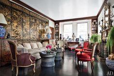An Eclectic Sutton Place Apartment : Architectural Digest