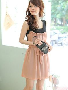 Fascinating Pink Hot Repair Waist Ocean Casual Dresses  Casual Dresses from stylishplus.com
