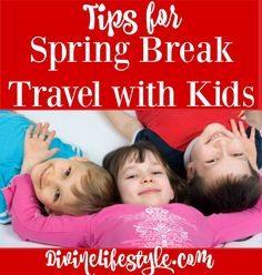 5 Tips for Spring Break Travel with Kids AD #GoodHandsRescue