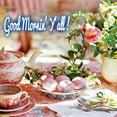 ╰⊰✿ Good Mornin' Y'all ! It's another fine day brought to you by God. Be sure to thank Him for it. I hope you will take every opportunity help & to be a blessing to someone today.(ツ)