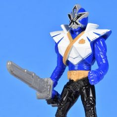 Blue Ranger Super Samuri 2012 McDonalds Approximately 4.25 inches tall
