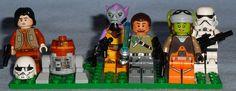 Lego - Rebels Figures Lego Star Wars Rebels Figures from 75053 - The Ghost and 75048 - The Phantom Figures include: Ezra Bridger, C1-10P (Chopper), Zeth Orrelios, Kanan Jarrus, Hera Syndulla, and Stormtrooper