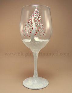 Hand+Painted+Dishwasher+Safe+Spiral+Holiday+by+ElegantlyHaunted,+$15.00