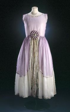 Dress Jeanne Lanvin, 1924 Musée Galliera de la Mode de la Ville de Paris