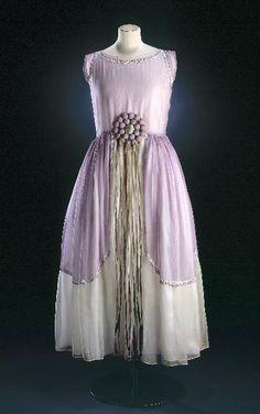 Dress Jeanne Lanvin, 1924 Musée Galliera de la Mode de la Ville de Paris