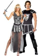 One Hot Knight Couples Costumes - Party City