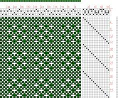 Hand Weaving Draft: 16159, 2500 Armature - Intreccio Per Tessuti Di Lana, Cotone, Rayon, Seta - Eugenio Poma, 4S, 16T - Handweaving.net Hand Weaving and Draft Archive