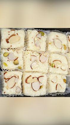 Navratri Recipes, Condensed Milk Recipes, Diwali Food, Clarified Butter Ghee, Eat Happy, Indian Dessert Recipes, Cardamom Powder, Non Stick Pan, Powdered Milk