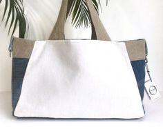 f6201fbbd1 35 meilleures images du tableau Sacs   Couture sac, Beige tote bags ...