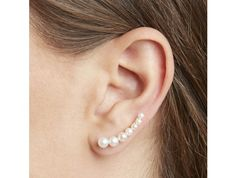 Pearl Floating Earring | Anita Ko | Goop.com