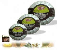 Biologische Aleppo Najel zeep met jasmijnolie. De zeep is op basis van olijfolie en is zeer voedend voor de huid. Voor €3,95.