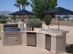 Pergola Outdoor Kitchen Bbq Bar Artificial Grass