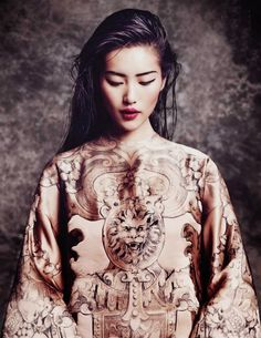 WanderWorldWonderLust ~ Liu Wen - Vogue Thailand, October 2013